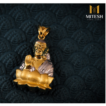 22K GENTS SAI BABA PENDANTS