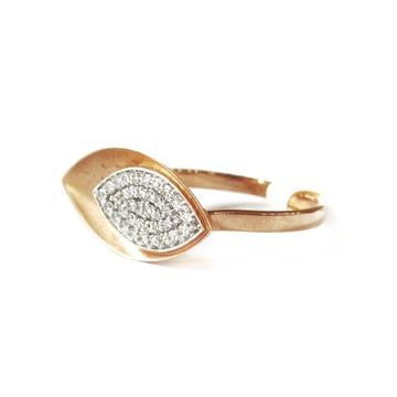 18k rose gold fancy ring mga - rgr0031