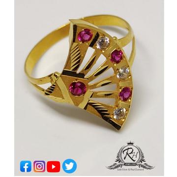 22 carat gold antiq ladies rings RH-LR249
