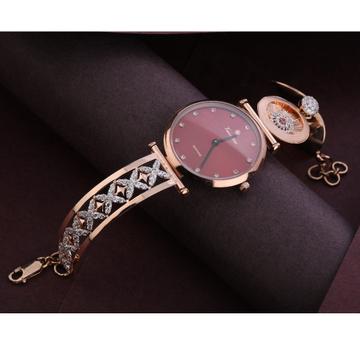 750 Rose Gold Women's  Delicate Hallmark Watch RLW287