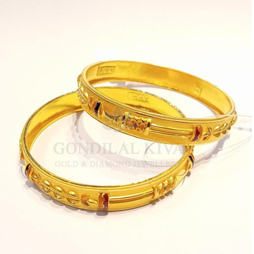 20kt gold bangle gbg53