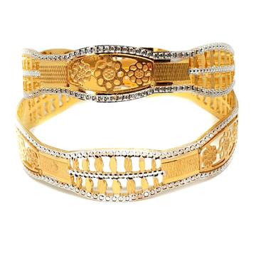 One gram gold forming bangles mga - gf0048