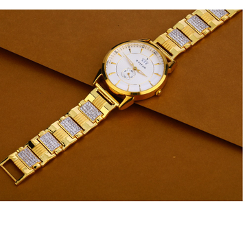 916 Gold Hallmark Designer Gentlemen's Watch MW44