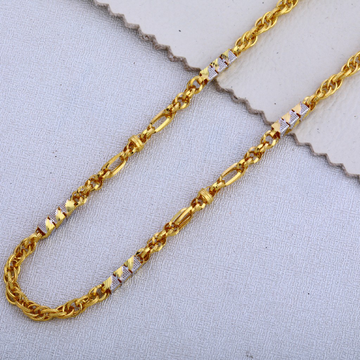 22KT Gold Delicate Gent's Chain MCH508