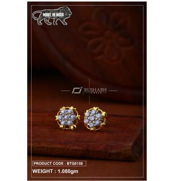 18 carat gold Ladies round tops btg0158 by