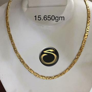 916 Gold Handmade Chain SC-PG8195