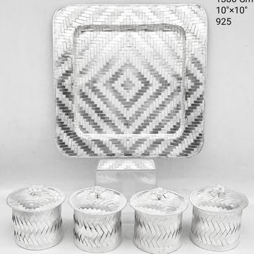 silver mukhwas box RH-TD915