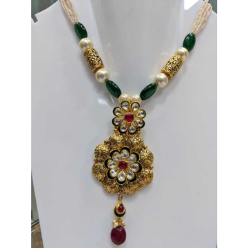 Gold Kundan Antique Jewellery