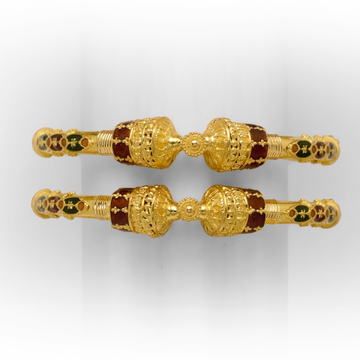 916 gold copper corn ladies kadli