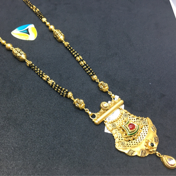 ANTIQUE piece of 22kt gold mangalsutra