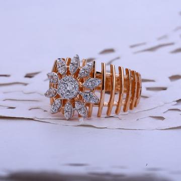 Rose Gold Designer Ladies Ring-RLR72