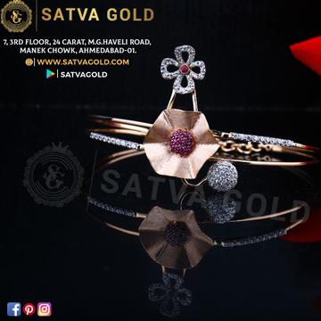 76 ROSE GOLD KADA SGK-0003