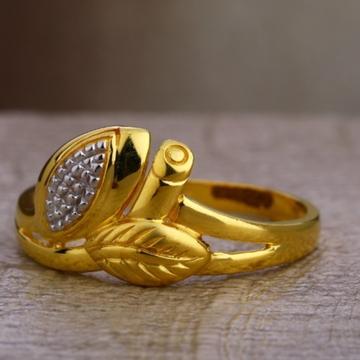 22 carat gold hallmark designer ladies rings RH-LR629