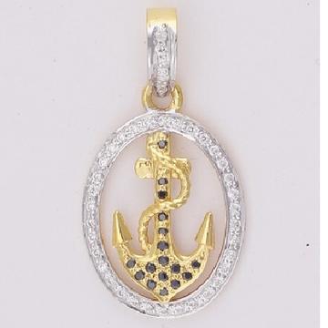 22KT Gold Ladies Fancy Handmade Pendant