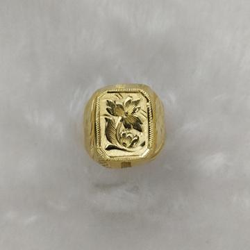 916 Gold Gent's Fancy Ring
