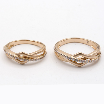 22kt gold designer couple ring kv-r004