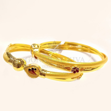 20kt gold bangle gbg70