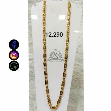 22 Carat Gold Antique Gents Chain RH-CH775