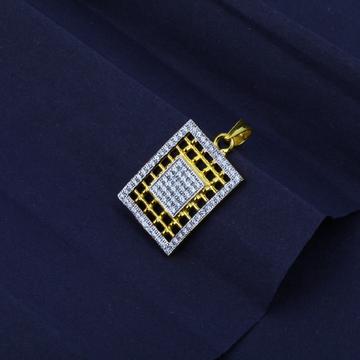 Men's Exclusive 916 Fancy Gold Pendant- MFP02
