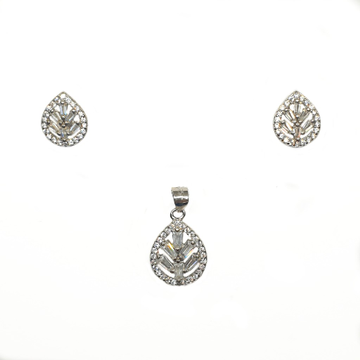 925 Sterling Silver Fancy Pendant Set MGA - PTS0095
