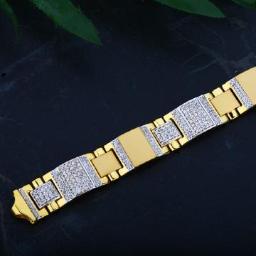 Mens 916 Gold Casting Bracelet-MCB25