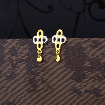 Ladies 916 Gold Fancy Designer Earring -LPE67