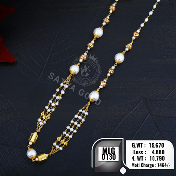 916 gold mala MLG-0130