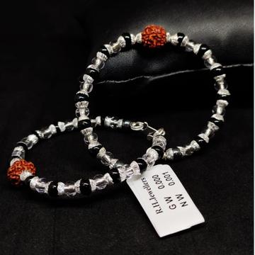 silver fancy kids bracelet Rh-bB873