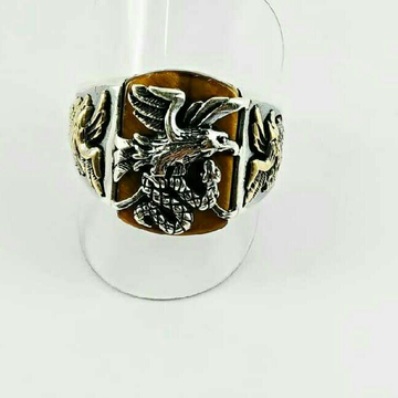 925 Silver Antique Gents Ring