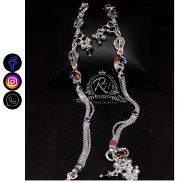 silver traditional payal RH-LP379