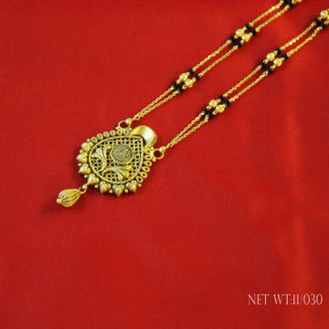 22ct south fancy mangalsutra