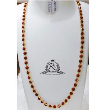 22 carat gold rudraksha mala RH-RD096