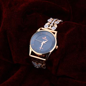 750 Rose Gold Cz Ladies Watch RLW174