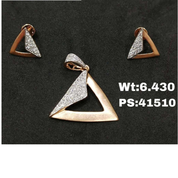 18ct RoseGold Pendalset RGPS-0001