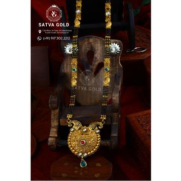 916 Gold Antique Mangalsutra AMG-011