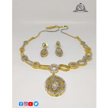 22 carat gold necklace set RH-NS632