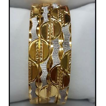 916 GOLD STYLISH BANGLE SET