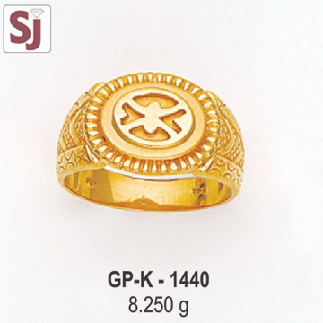 Gents Ring Plain GP-K-1440