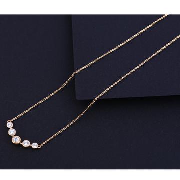 18KT Rose Gold Classic Necklace Tanmaniya RTM213