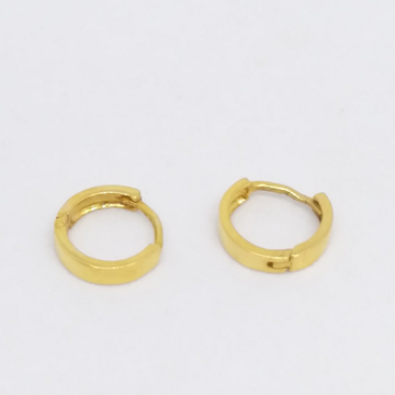18 kt 750 gold plain casting bali by Zaverat