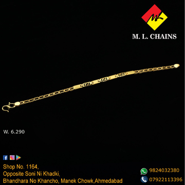 916 Gold Attractive Lucky ML-B15