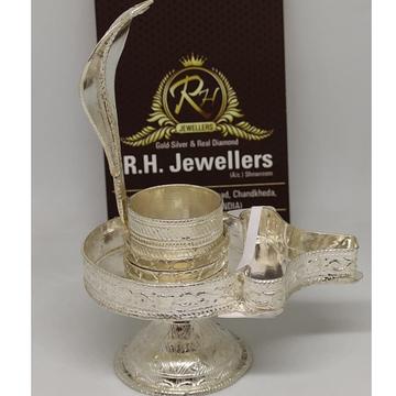 SILVER classic  mahadev shivling RH-SS322