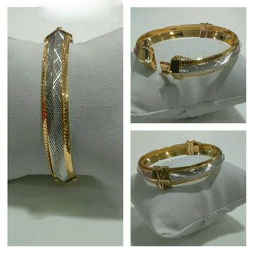 22k Gents Fancy Gold Bracelet G-5155