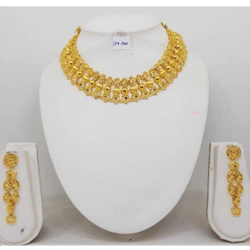 916 gold turkish necklace set for women bj-n06