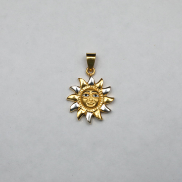 916 gold Surya Pendant ML-P006