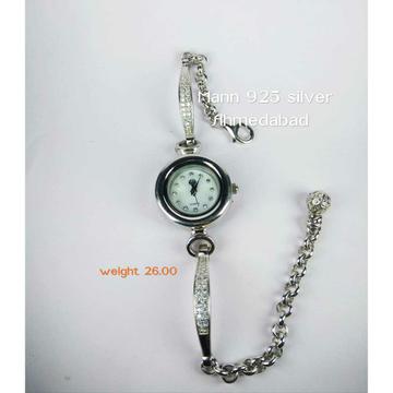 Light Weight 925 Silver Ladies Watch