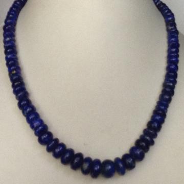 Natural Lapis Lazuli Flat Beeds Mala