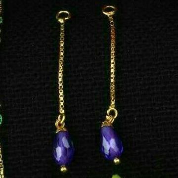 18Kt Gold Designer Fancy Earrings