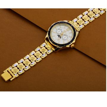 22KT Gold Designer Men's Watch MW42