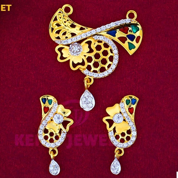 916 Gold Mangalsutra Pendal with Butti MSP-004\